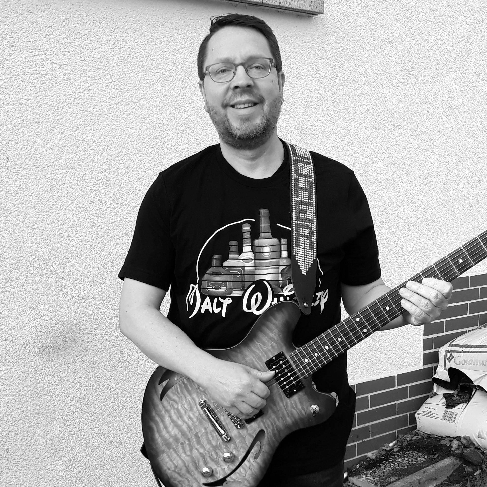 Dominik Rudolph, Gitarre