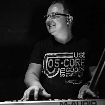 Dominic Tamme, Keybord, Klavier und Akkordeon